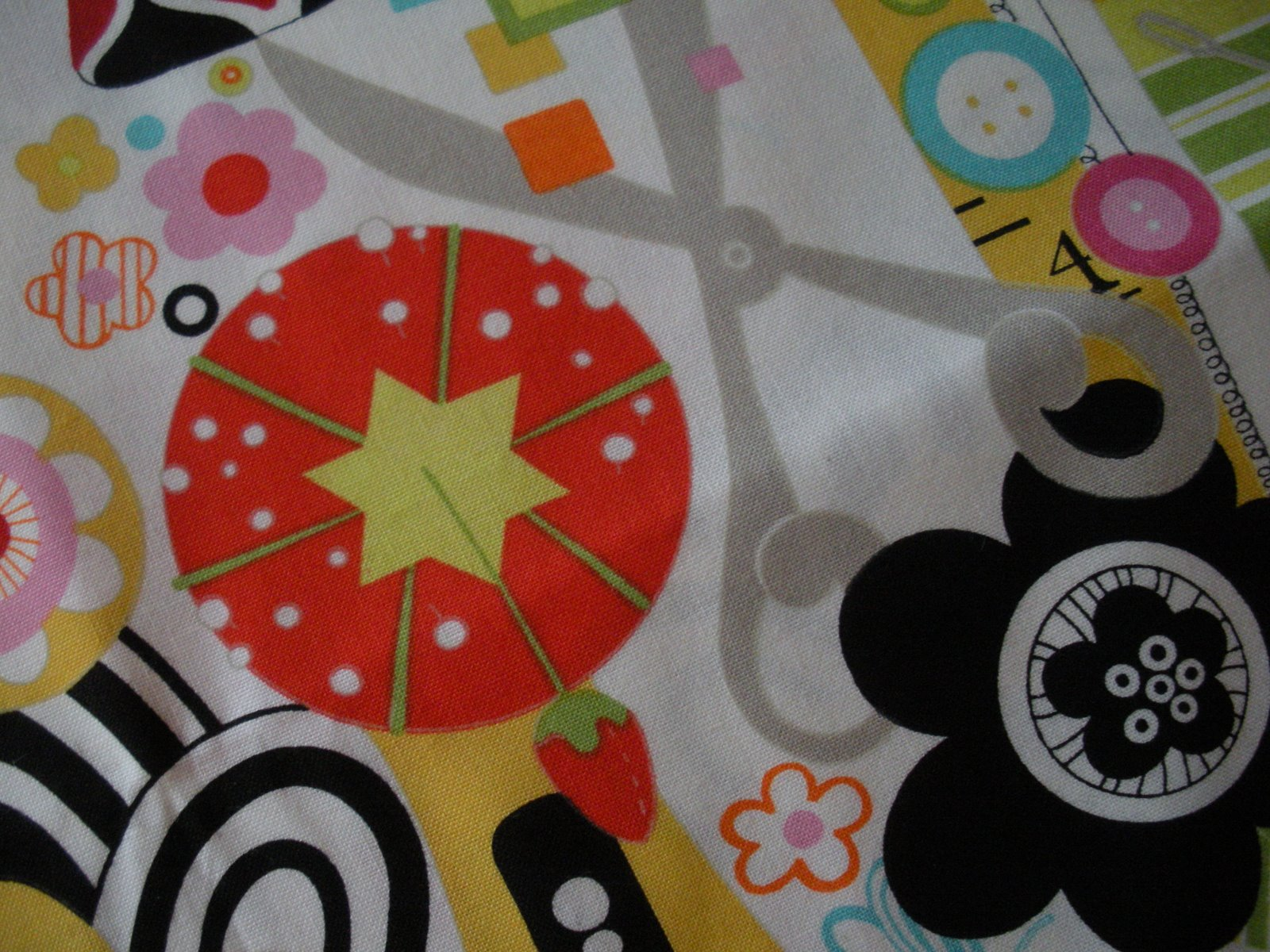 novelty fabric | made by a brunnette