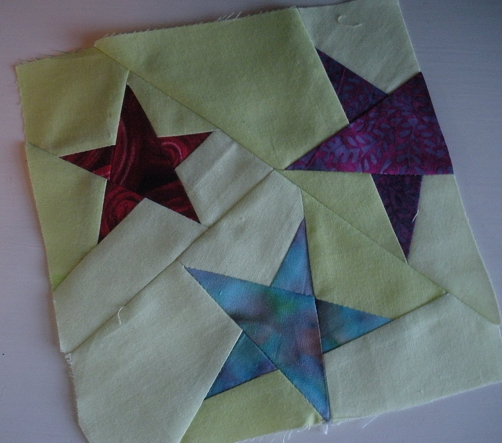 Paper Piecing Made By A Brunnette