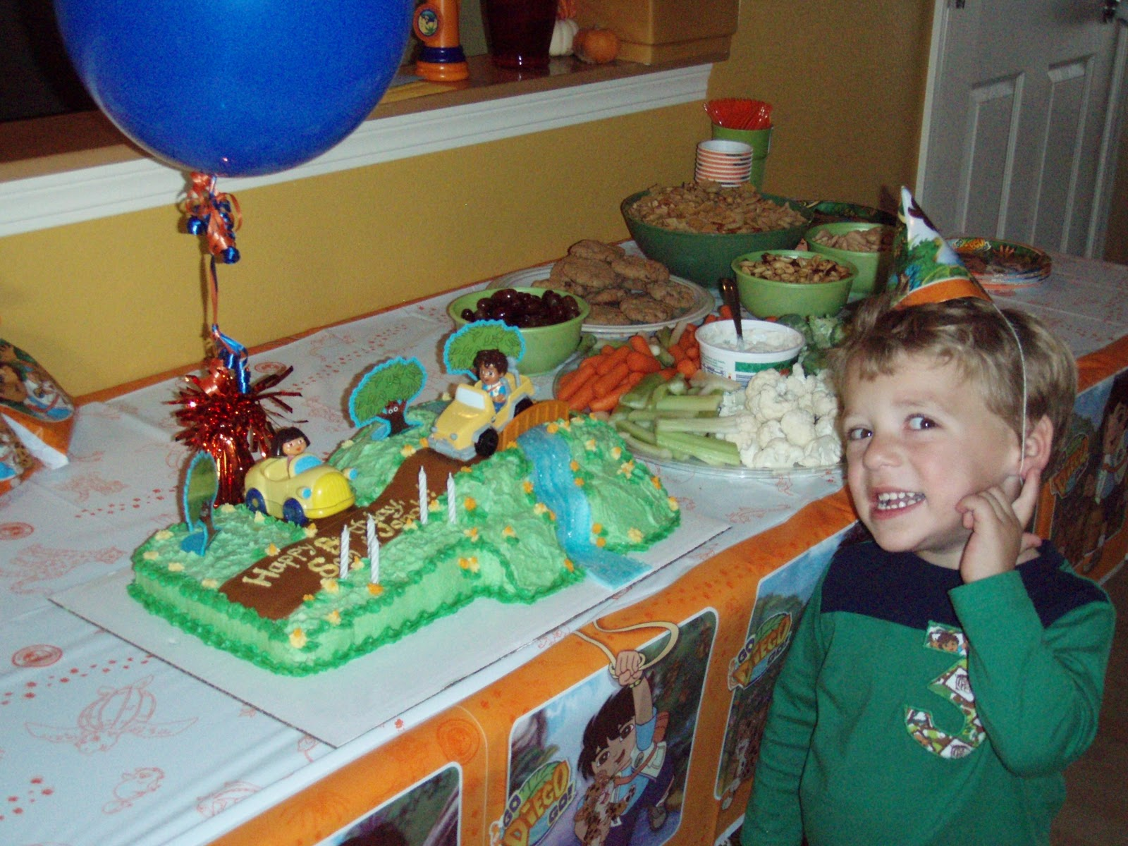 Go Diego Go Made By A Brunnette - Go diego go birthday cake
