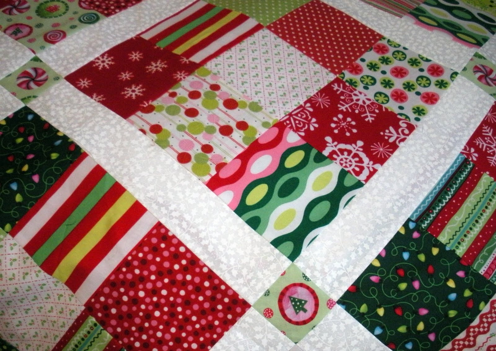 Throw quilt | made by a brunnette