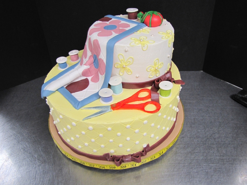 Quilting Cake Designs : Birthday made by a brunnette Page 2