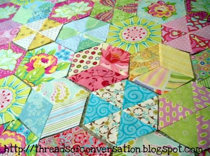 Easy {hand} Piecing: A Tutorial | made by a brunnette : hexagon quilt ideas - Adamdwight.com