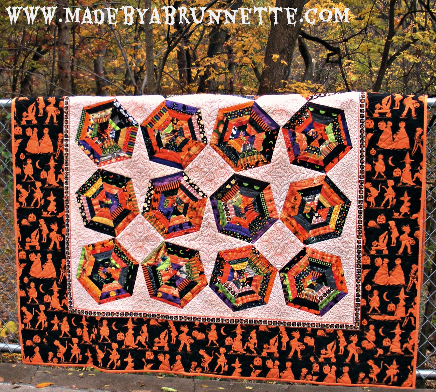 What a Tangled Web We Weave – Spiderweb Block Tutorial | made by a ... : weave quilt pattern - Adamdwight.com