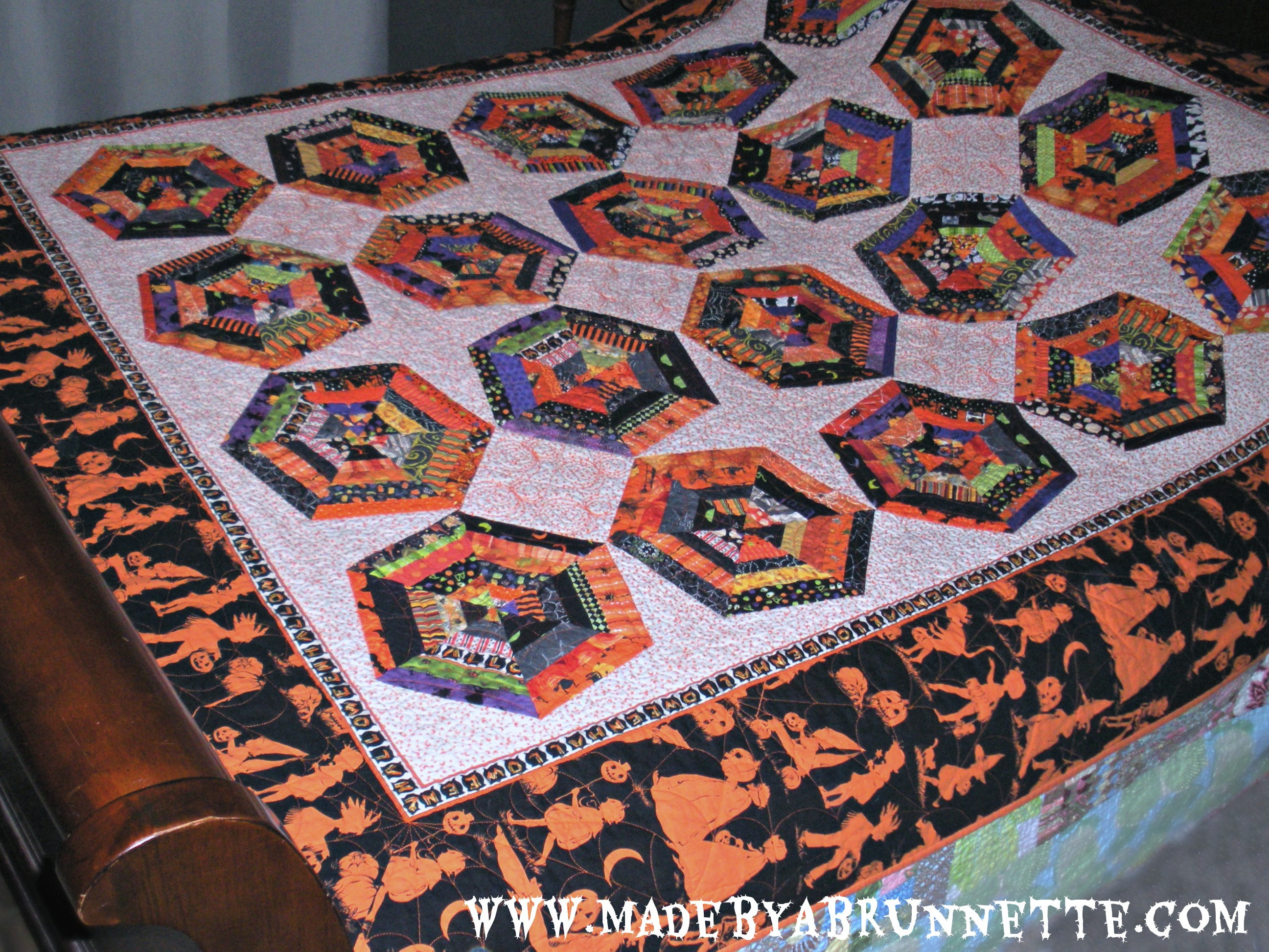 What a Tangled Web We Weave – Spiderweb Block Tutorial | made by a ... : spider web quilt block tutorial - Adamdwight.com