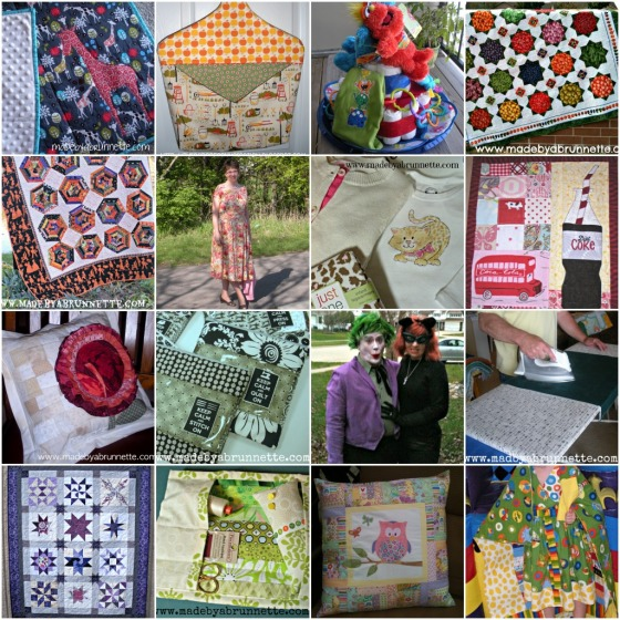 2012 Finished Projects Collage