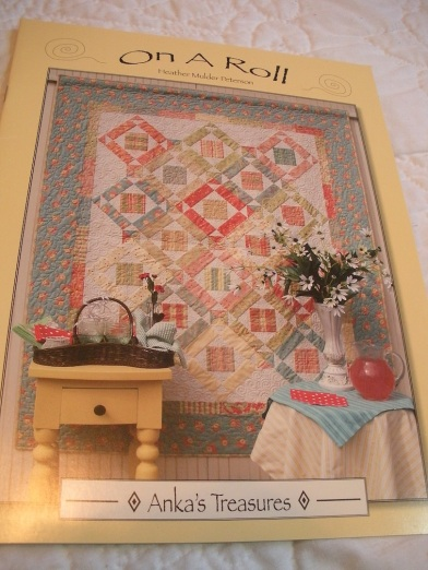 On A Roll Jelly Roll Quilt Book