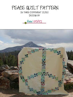 Peace Quilt Pattern Cover