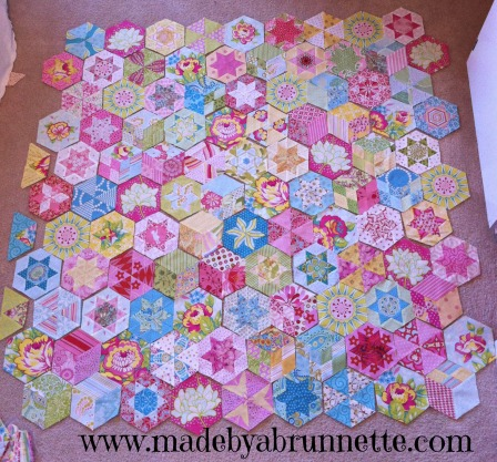 Candied Hexagon blocks