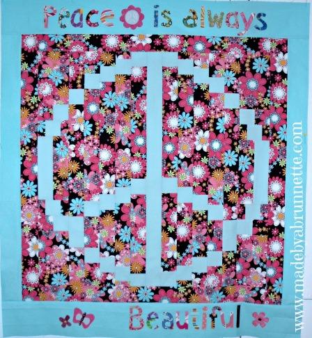 Peace Quilt 1