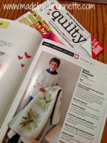 Quilty magazine 1