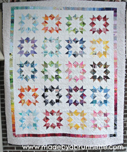 Love in a Mist Quilt