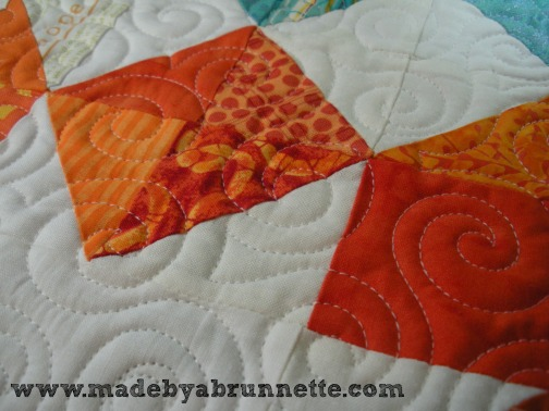 Trina Quilting Closeup