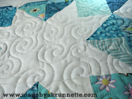 Trina Quilting Detail