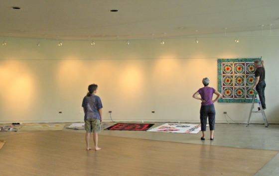 Quilt Show installation
