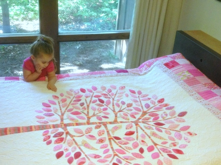 Amelia and Her Quilt