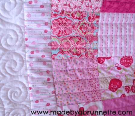 Lilly PIlly Patchwork Border Detail