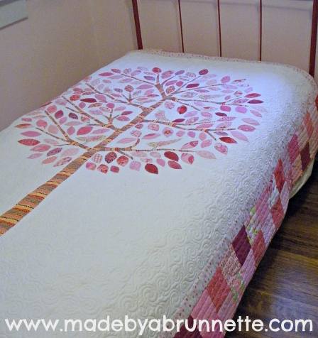 Lilly Pilly Quilt On Bed