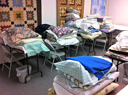 AQS Quilt Drop Off