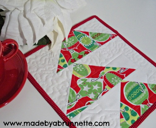 Mini Quilt Made By A Brunnette