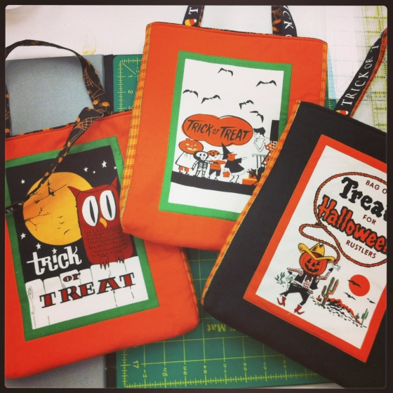 Trick or Treat Bags Panel
