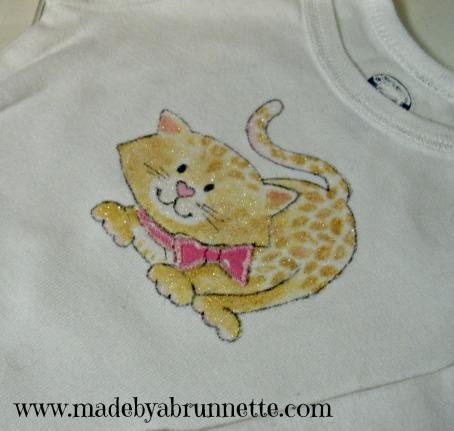 Baby Cheetah Onesie