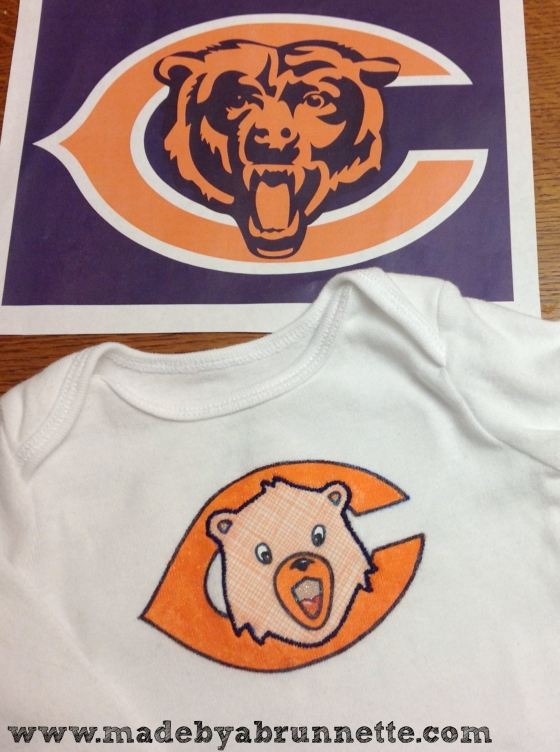 Chicago Bears Onesie & Logo
